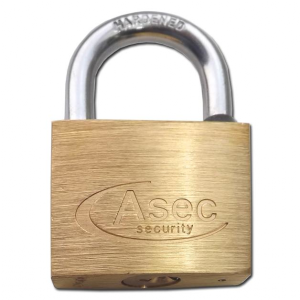 Asec Keyed Alike Brass Padlock